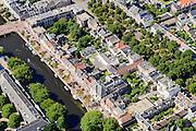 Nederland, Noord-Holland, Haarlem, 01-08-2016; centrum Haarlem met Nieuwe Gracht richting Jansstraat<br /> City centre Haarlem.<br /> luchtfoto (toeslag op standard tarieven);<br /> aerial photo (additional fee required);<br /> copyright foto/photo Siebe Swart