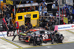September 30, 2018 - Concord, North Carolina, United States of America - Erik Jones (20) brings his car down pit road for service during the Bank of America ROVAL 400 at Charlotte Motor Speedway in Concord, North Carolina. (Credit Image: © Chris Owens Asp Inc/ASP via ZUMA Wire)