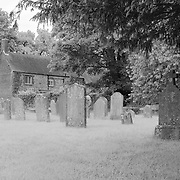 Old Graveyard - Avebury, UK - Infrared Black & White