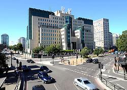 File photo dated 26/08/16 of a general view of the Secret Intelligence Service building headquarters of MI6 at Vauxhall Cross in central London, as the Duke and Duchess of Cambridge have made a return trip to the headquarters of MI6 to meet the nation's spies.