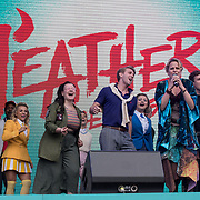 Heathers The Musical on stage at West End Live on June 17 2018  in Trafalgar Square, London.
