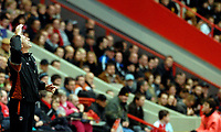 Photo: Alan Crowhurst.<br />Charlton Athletic v Aston Villa. The Barclays Premiership. 30/12/2006. Charlton coach Alan Pardew can't believe another chance is missed.