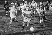 Youth Soccer at Undine Park, Laramie, WY