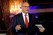Perspreview 50 jaar Koninklijk Paleis Amsterdam.<br /> <br /> Op de foto:  drs. Ph. C.B. (Flip) Maarschalkerweerd,  directeur Koninklijke Verzamelingen