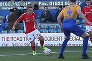 Jamie Ward of Charlton Athletic (16) during the The FA Cup match between Mansfield Town and Charlton Athletic at the One Call Stadium, Mansfield, England on 11 November 2018.