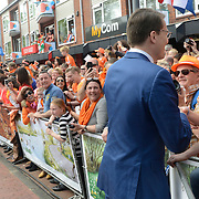 Koningsdag 2014 in Amstelveen, het vieren van de verjaardag van de koning. / Kingsday 2014 in Amstelveen, celebrating the birthday of the King. <br /> <br /> <br /> Op de foto / On the photo:  Prins Constantijn  / Prince Constantijn