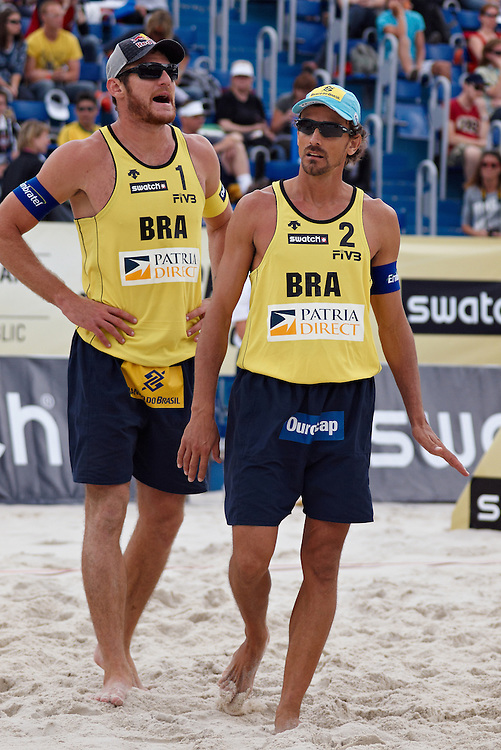 Swatch FIVB Patria Direct Open 2010 - BRA vs BRA