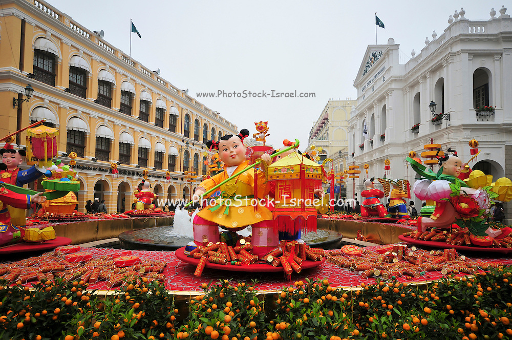 Asia, Southeast, People's Republic of China, Macau, Senado Square
