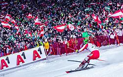 "29.01.2019, Planai, Schladming, AUT, FIS Weltcup Ski Alpin, Slalom, Herren, 2. Lauf, im Bild Michael Matt (AUT) // Michael Matt of Austria in action during his 2nd run of men's Slalom ""the Nightrace"" of FIS ski alpine world cup at the Planai in Schladming, Austria on 2019/01/29. EXPA Pictures © 2019, PhotoCredit: EXPA/ Stefanie Oberhauser"