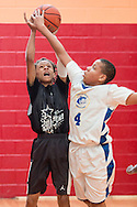 Middletown, New York - YMCA youth basketball at the YMCA of Middletown on May 16, 2015.