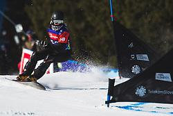 Sara Goltes (SLO) during parallel slalom FIS Snowboard Alpine World Championships 2021 on March 2nd 2021 on Rogla, Slovenia. Photo by Grega Valancic / Sportida