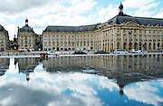 miror d'eau place de la bourse bordeaux france