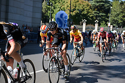 Jolien D'hoore in the bunch at Madrid Challenge by la Vuelta 2017 - a 87 km road race on September 10, 2017, in Madrid, Spain. (Photo by Sean Robinson/Velofocus.com)
