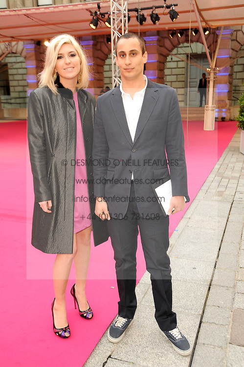 ALEX DELLAL and  at the Royal Academy of Arts Summer Party held at Burlington House, Piccadilly, London on 9th June 2010.