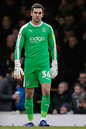 Luton Town goalkeeper James Shea (36) during the EFL Sky Bet League 1 match between Southend United and Luton Town at Roots Hall, Southend, England on 26 January 2019.