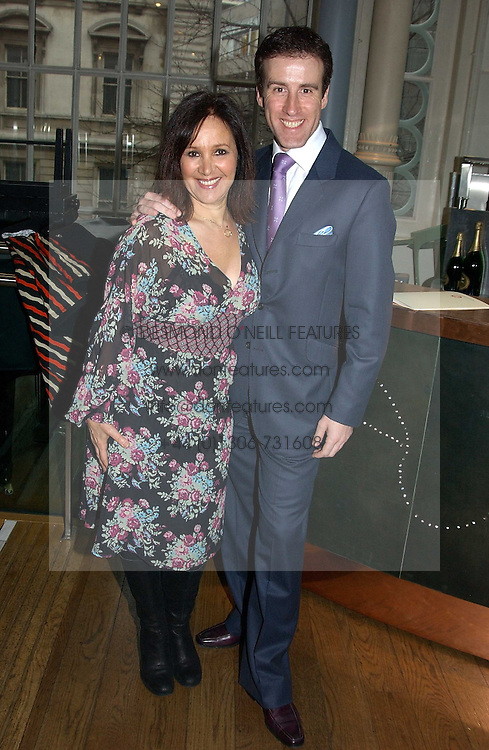 Choreographer ARLENE PHILLIPS and and choreographer ANTON DU BEKE  at The Critic's Circle National Dance Awards 2005 held at The Royal Opera House, Covent Garden on 19th January 2006.<br /><br />NON EXCLUSIVE - WORLD RIGHTS