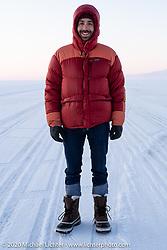 Sean Lichter on Lake Baikal, Siberia, Russia. Monday, February 24, 2020. Photography ©2020 Michael Lichter.