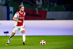 14-08-2018 NED: Champions League AFC Ajax - Standard de Liege, Amsterdam<br /> Third Qualifying Round,  3-0 victory Ajax during the UEFA Champions League match between Ajax v Standard Luik at the Johan Cruijff Arena / Daley Blind #17 of Ajax