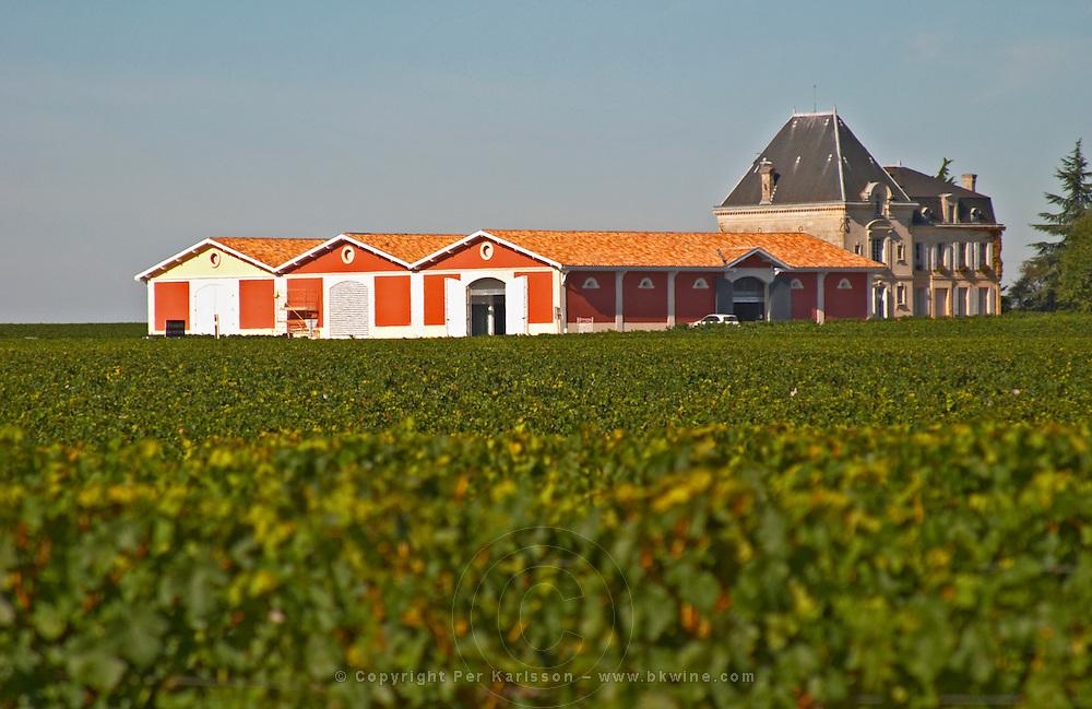 The winery and chateau at Chateau Evangile Saint Emilion