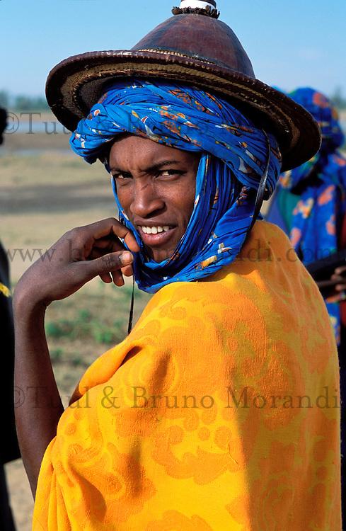 Mali - Sofara - Berger Peul // Mali. Sofara. Peul herdsman.