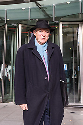 London - Leader of the Liberal Democrats Sir Vince Cable leaves the BBC's Broadcasting House in London after appearing on the Andrew Marr Show. February 04 2018.