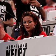 NLD/Hilversum/20100121 - Benefietactie voor het door een aardbeving getroffen Haiti, Jessica Mendels