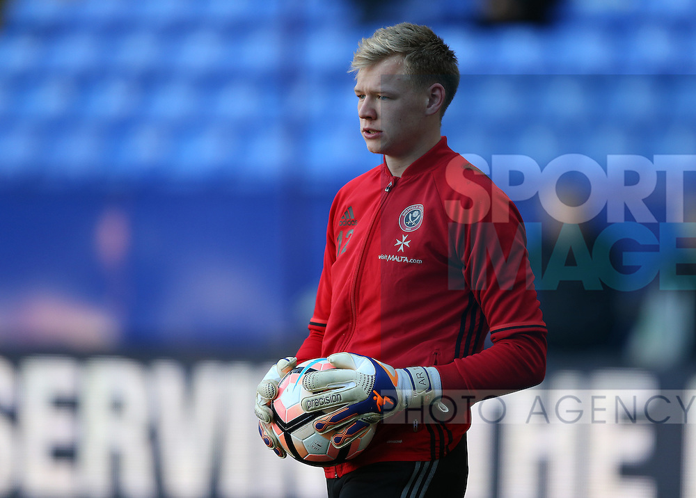 Aaron Ramsdale of Sheffield Utd during the FA Cup Second round match at the Macron Stadium, Bolton. Picture date: December 4th, 2016. Pic Simon Bellis/Sportimage