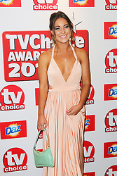 © Licensed to London News Pictures. 09/09/2013, UK. Louise Thompson,  TV Choice Awards, The Dorchester Hotel, London UK, 09 September 2013 Photo credit : Richard Goldschmidt/Piqtured/LNP