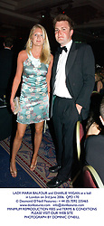 LADY MARIA BALFOUR and CHARLIE WIGAN at a ball in London on 3rd June 2006.QPD 170<br /> <br /> NON EXCLUSIVE - WORLD RIGHTS