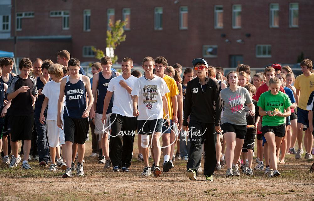 Cross Country Meet at Merrimack Valley High School September 27, 2011.