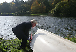 File photo dated 15/10/17 of Boris Johnson lifting a boat before a lunch meeting of European foreign ministers during his tenure as Foreign Secretary. Mr Johnson has been elected by Conservative party members as the new party leader, and will become the next Prime Minister of the United Kingdom.
