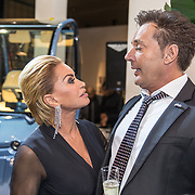NLD/Amsterdam/20171207 - Masters of LXRY vipavond 2017, Gerard Joling en Connie Witteman