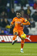 Luton Town midfielder Pelly-Ruddock Mpanzu (17) on the ball during the EFL Sky Bet League 1 match between Luton Town and Bradford City at Kenilworth Road, Luton, England on 27 November 2018.