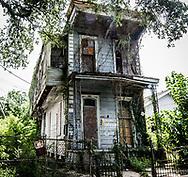 Abandoned after Katrina Hurricane