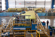 The C-27J Spartan aircraft assembly line is seen at the  Alenia Aeronautica plant at Capodichino, in Naples, Italy, on Monday, Sept. 6, 2010.