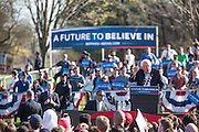 "Brooklyn, NY - 17 April 2016. Vermont Senator Bernie Sanders, who is running as a Democrat in the U.S. Presidential primary elections, held a campaign ""get out the  vote"" rally in Brooklyn's Prospect Park."