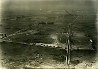 1922 Aerial photo of Wilshire Blvd. & Fairfax Ave.