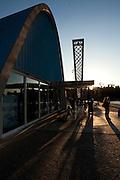 Belo Horizonte_MG, Brasil...Igreja Sao Francisco de Assis ou Igreja da Pampulha, faz parte do conjunto arquitetonico da Pampulha, criado pelo arquiteto Oscar Niemeyer na decada de 40 em Belo Horizonte, Minas Gerais...Sao Francisco de Assis church or Pampulha church, is the Pampulha architectural complex, created by Oscar Niemeyer in Belo Horizonte, Minas Gerais...Foto: LEO DRUMOND / NITRO