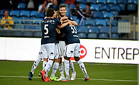 Fotball , 11. september 2015 ,   Eliteserien , Tippeligaen <br /> Strømsgodset - Haugesund 5-0<br /> Marco Tagbajumi , SIF   33<br /> Jørgen Horn 5, Gustav Valsvik , SIF