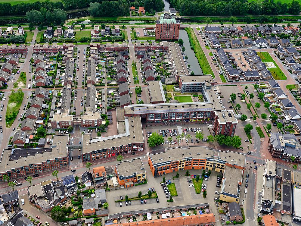Nederland, Overijssel, Gemeente Almelo; 21–06-2020; Overzicht Noordoosten van Almelo, Sluitersveld, Rumerslanden.<br /> <br /> luchtfoto (toeslag op standaard tarieven);<br /> aerial photo (additional fee required)<br /> copyright © 2020 foto/photo Siebe Swart