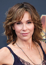 HOLLYWOOD, LOS ANGELES, CA, USA - APRIL 23: World Premiere Of Disney And Marvel's 'Avengers: Infinity War' held at the El Capitan Theatre, Dolby Theatre and TCL Chinese Theatre IMAX on April 23, 2018 in Hollywood, Los Angeles, California, United States. 23 Apr 2018 Pictured: Jennifer Grey. Photo credit: Xavier Collin/Image Press Agency / MEGA TheMegaAgency.com +1 888 505 6342