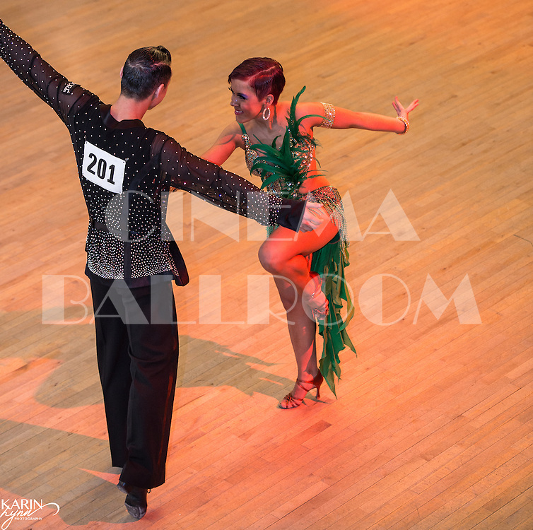 International Latin Jon and Tiffany Sullivan