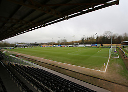 A general view of The New Lawn Stadium