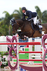 Maher Ben (GBR) - Tackeray<br /> Horseware GP CSI 2*<br /> Wellington 2012<br /> © Hippo Foto - Cealy Tetly