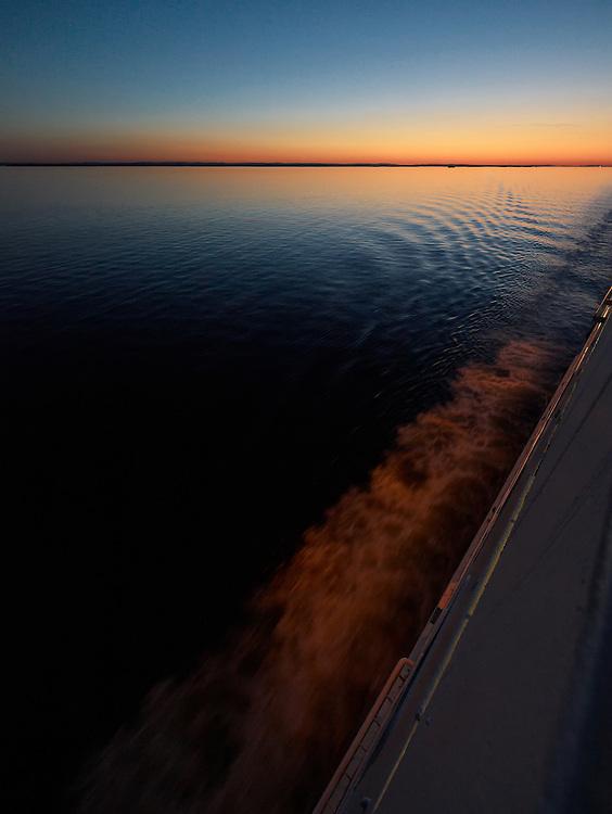 Norway - Sunset on sea