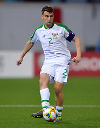 Republic of Ireland's Seamus Coleman during the UEFA Euro 2020 Qualifying, Group D match at the Victoria Stadium, Gibraltar.