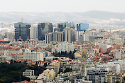 View of Lisbon, Amoreiras Shopping