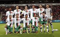 Fotball, 7. september  2010 ,  EM-kvalifisering<br /> Norge - Portugal 0-1<br /> <br /> Norway - Portugal<br /> Euro-Qual.<br /> <br />  lagbilde , teampicture , tea picture Portugal<br /> Eduardo (1) , Bruno Alves 2, Silvio 5, Ricardo Carvalho 6, Ricardo Quaresma 6, Miguel Veloso 14, Manuel Fernandes 15, Raul Meireles 16, Nani 17, Hugo Almeida 18, Tiago 19<br /> Foto: Anders Hoven , Digitalsport