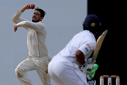 July 15, 2017 - Colombo, Sri Lanka - Zimbabwe's cricket captain Graeme Cremer delivers a ball during the 2nd day's play of the only test cricket match between Sri Lanka and Zimbabwe in Colombo, Sri Lanka, Saturday, July 15, 2017  (Credit Image: © Tharaka Basnayaka/NurPhoto via ZUMA Press)