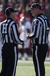 05 December 2015:  Mark Koch and Noel Kulbeck. NCAA FCS Round 2 Football Playoff game between Western Illinois Leathernecks and Illinois State Redbirds at Hancock Stadium in Normal IL (Photo by Alan Look)